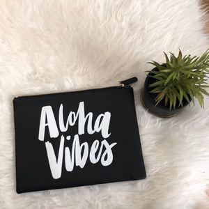 Like New Aloha Vibes Clutch